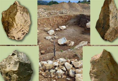 Industria lítica del yacimiento pleistoceno de Karama, Altai